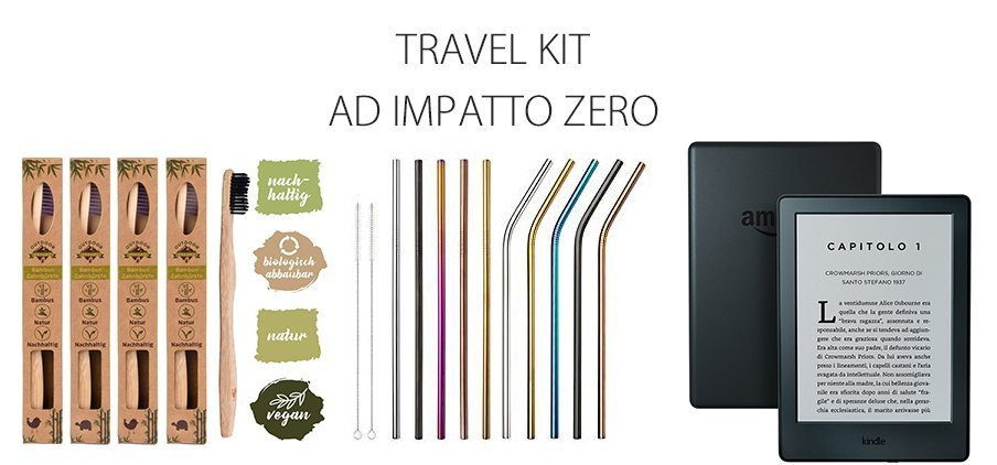 Travel kit mare ad impatto zero