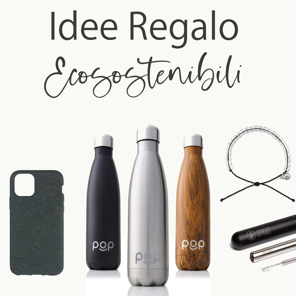 Idee regalo Ecosostenibili, black edition