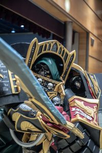 Cosplay Space Marine