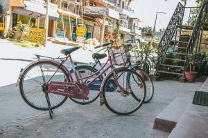 Biciclette in nepal